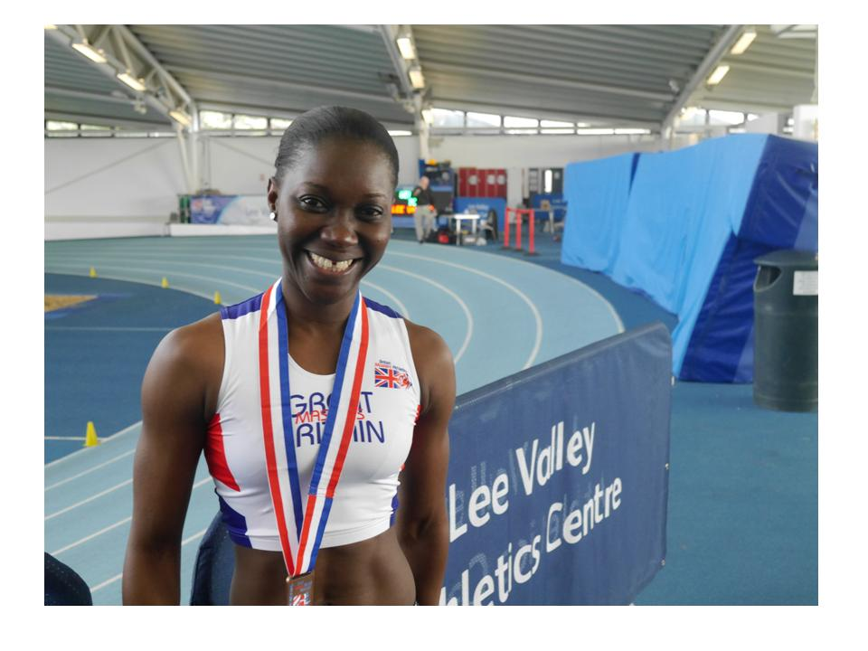 Double win for Naana Adusei at Indoor Athletics Championships