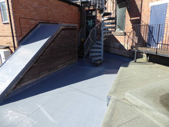 Roof coating - project image