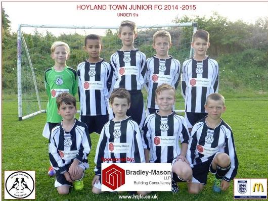 Hoyland Town Junior FC Team Photo